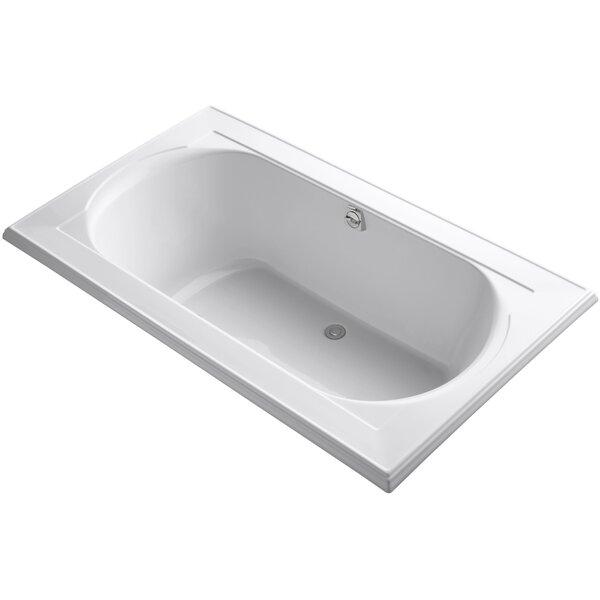 Memoirs Vibracoustic 72 x 42 Soaking Bathtub by Kohler