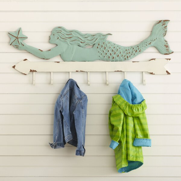 Magical Mermaid Coat Hooks by Birch Lane Kids™