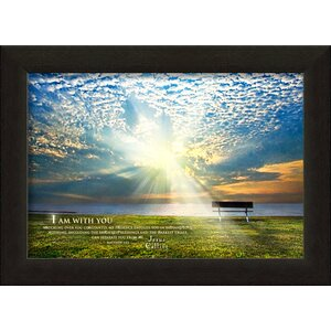 I Am With You Jesus Calling Framed Art Photographic Print by Carpentree