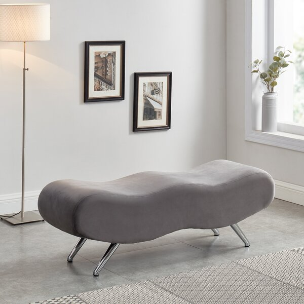 Linde Upholstered Bench by Orren Ellis