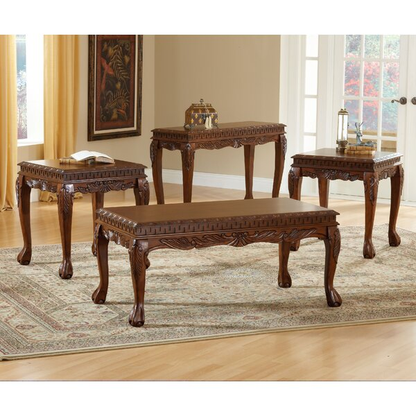 Michel 3 Piece Coffee Table Set by Astoria Grand