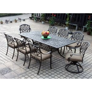 eight person patio dining sets youll love wayfair