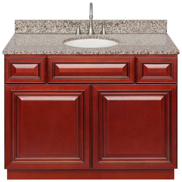 Kingsbridge 42 Single Bathroom Vanity Set by Charlton Home