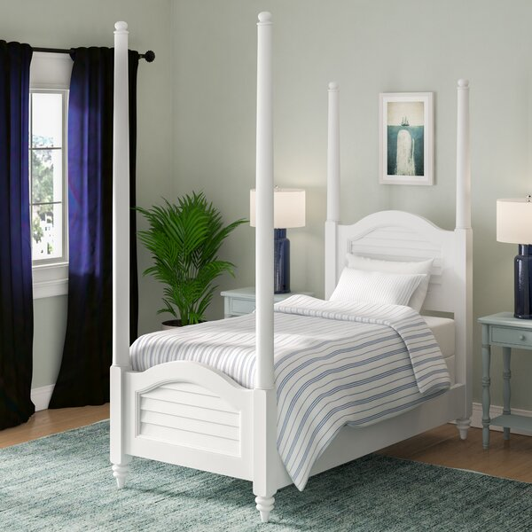 Sitz Twin Four Poster Bed by Harriet Bee