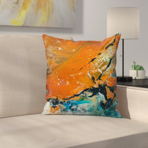 Nightfall Throw Pillow by East Urban Home