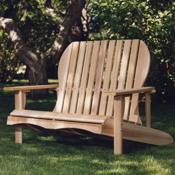 Western Red Cedar Solid Wood Adirondack Chair by All Things Cedar