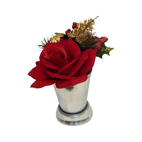 Christmas Rose Arrangement by Three Posts