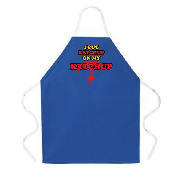 Ketchup on my Ketchup Apron by Attitude Aprons by L.A. Imprints