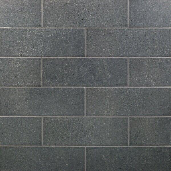 Piston Camp Canvas 4 x 12 Porcelain Subway Tile in Gray by Splashback Tile