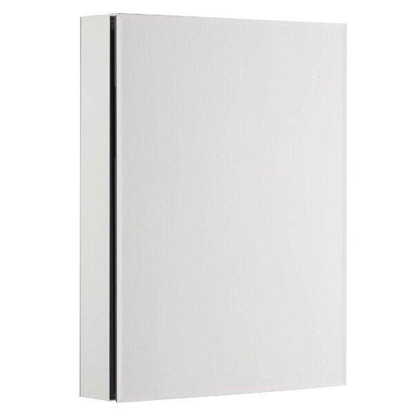 Johnie Bevel Mirror 20 x 26 Surface Mount Frameless Medicine Cabinet with 3 Adjustable Shelves