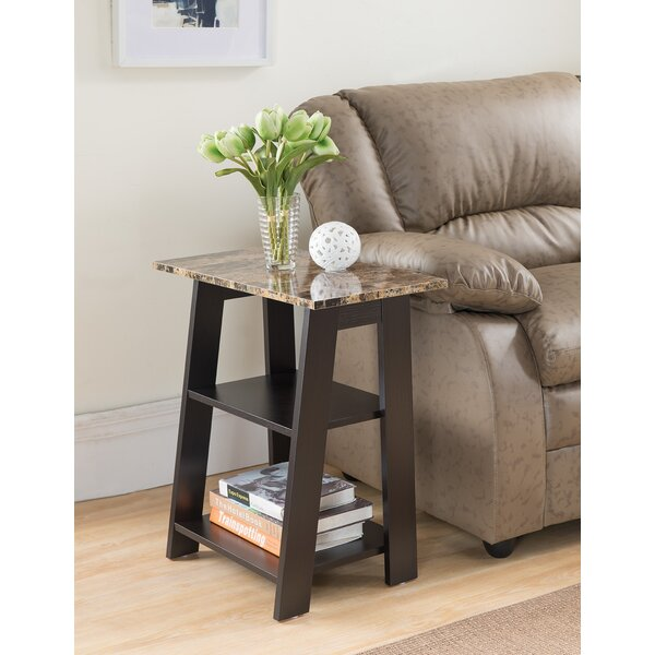 Hopkins Chairside Table by Latitude Run