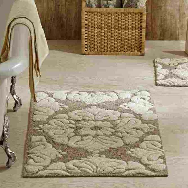 Westhoff Medallion Bath Mat by Willa Arlo Interiors