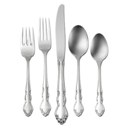 Dover 5 Piece 18/10 Stainless Steel Flatware Set, Service for 1 by Oneida