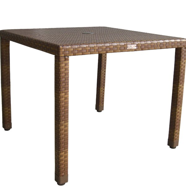 St Barths Wicker/Rattan Dining Table by Panama Jack Outdoor