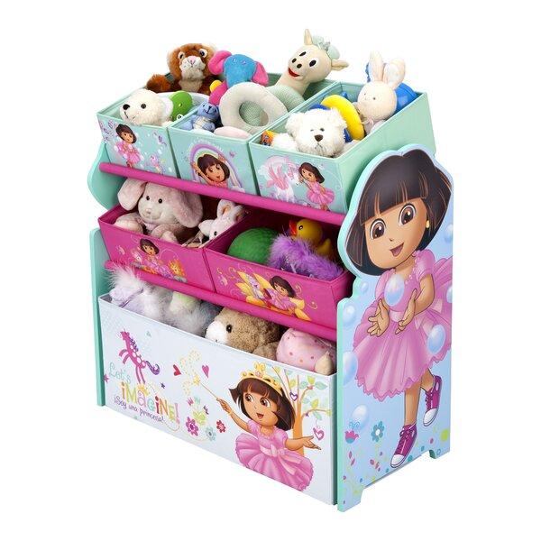 Nickelodeon Dora The Explorer Multi-Bin Toy Organizer by Delta Children