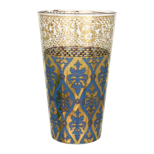 Patina Vie Sapphire Envy 16 Oz. Tall Glass (Set of 4) by Patina Vie