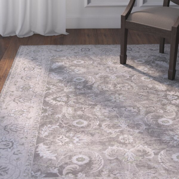 Larita Gray/Taupe Area Rug by Ophelia & Co.