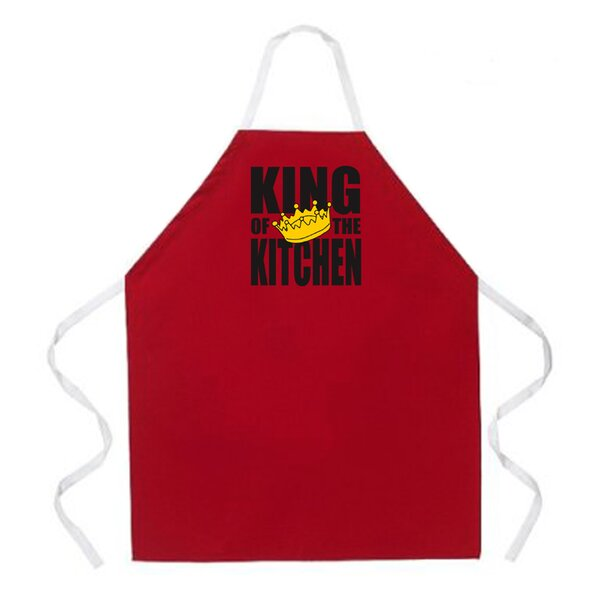 King of the Kitchen Apron by Attitude Aprons by L.A. Imprints