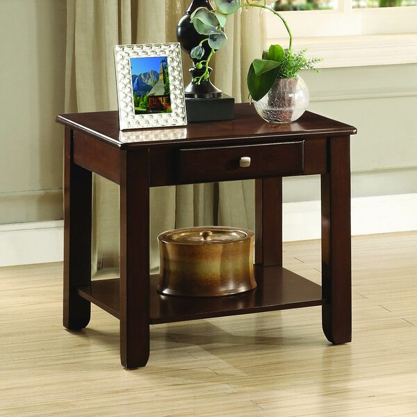 Medora End Table With Storage By Darby Home Co