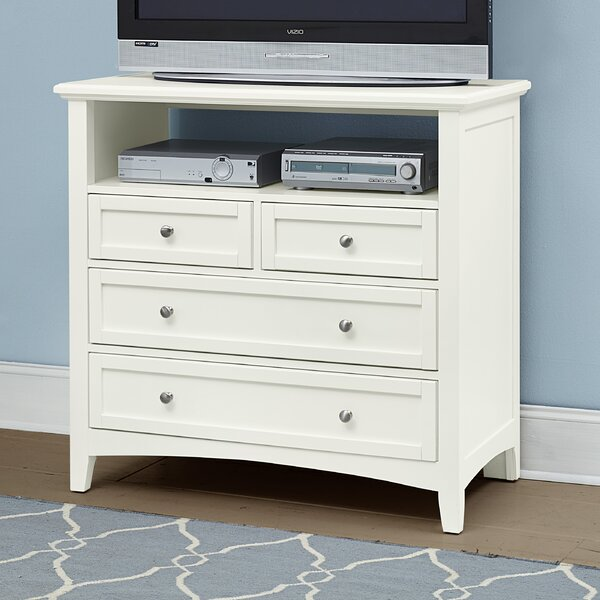 Gastelum 4 Drawer Media Chest by Darby Home Co
