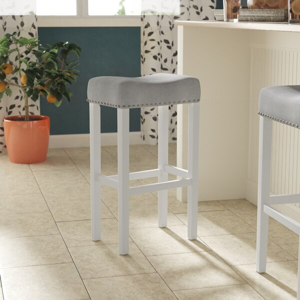 Firth 29'' Kitchen Pub-Height Bar Stool by Breakwater Bay