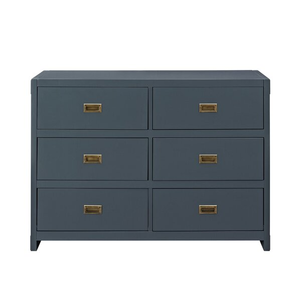 Benbrook 6 Drawer Double Dresser by Greyleigh
