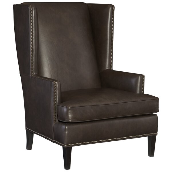 Nathan Wingback Chair by Bernhardt