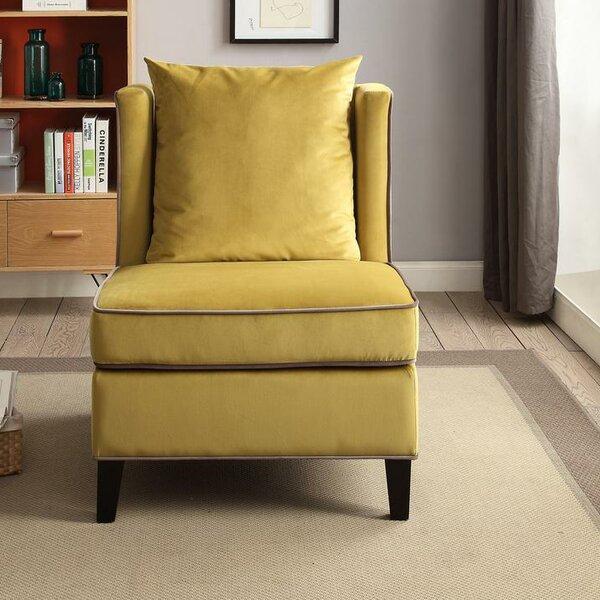 Fegley Slipper Chair by Latitude Run