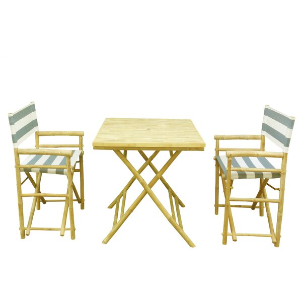 Petra 3 Piece Bistro Set by Bay Isle Home