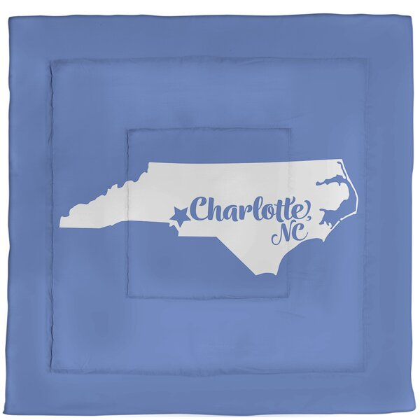 Carolina Charlotte North Single Reversible Comforter