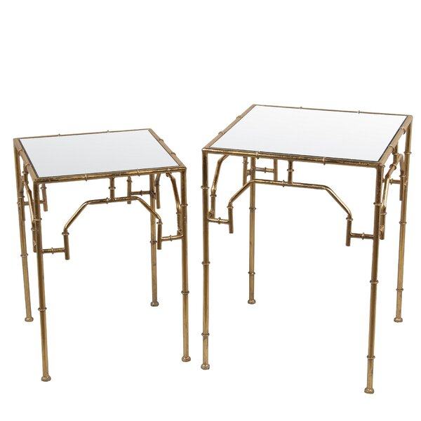 Damariscotta 2 Piece Nesting Tables by Bay Isle Home