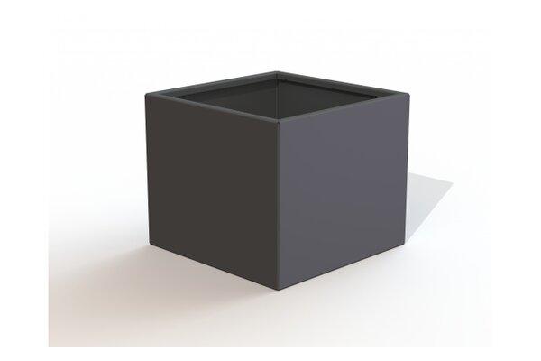 Rhone Square Metal Planter Box by Latitude Run