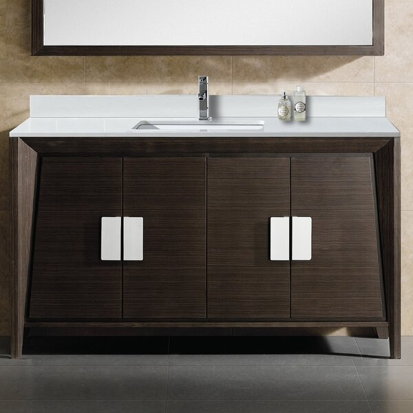 Emerson 60 Single Bathroom Vanity Set by Langley Street