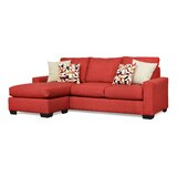 Harshad 92 Left Hand Facing Sectional by Ebern Designs