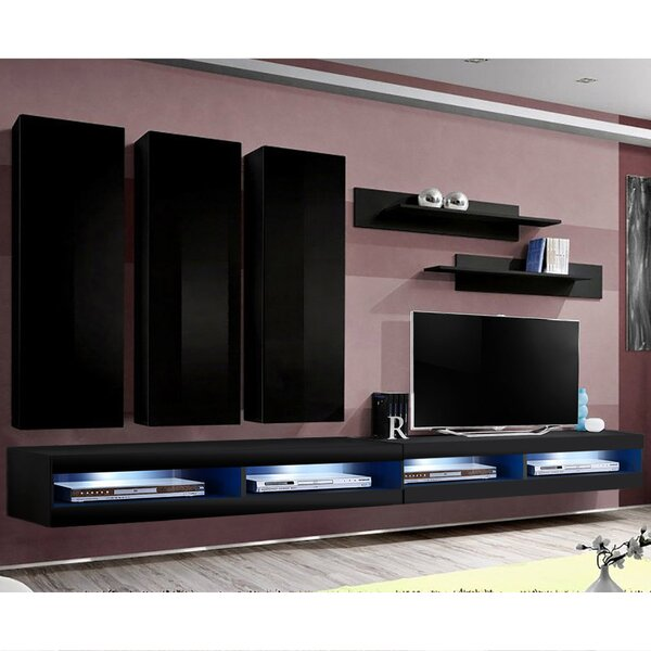 FLYE1 Floating Entertainment Center For TVs Up To 70