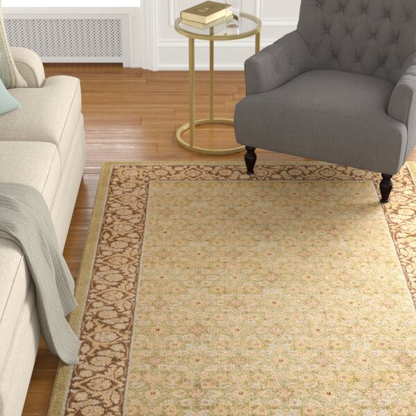 Stonekeep Green Area Rug by Astoria Grand
