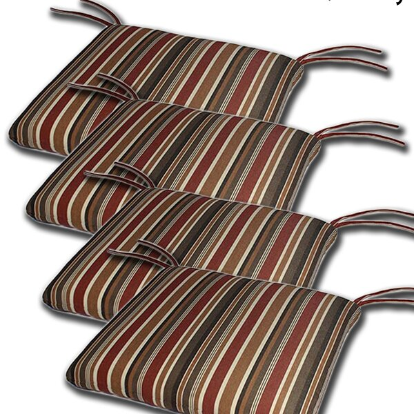 Ed Indoor/Outdoor Sunbrella Cushion (Set of 4) by Red Barrel Studio