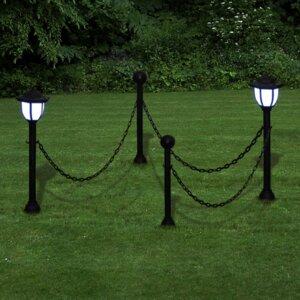 LED Wegeleuchten-Set
