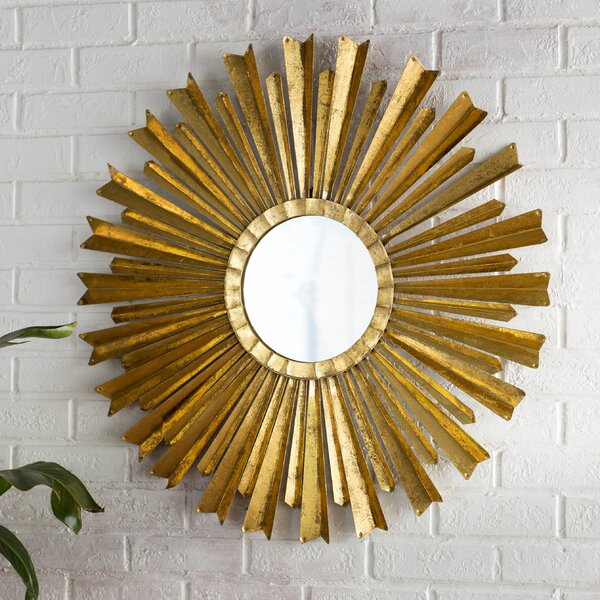 Birksgate Sunburst Accent Mirror by Willa Arlo Interiors