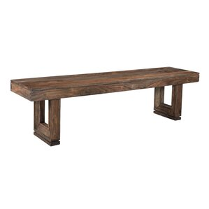 Anheuser Wood Bench by Foundry Select