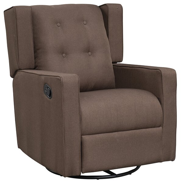 Caledonia Gliding 21.75 Manual Swivel Recliner W002831933