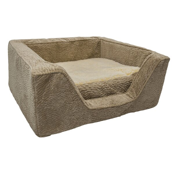 Show Dog Premium Micro Suede Bolster with Memory Foam by Snoozer Pet Products