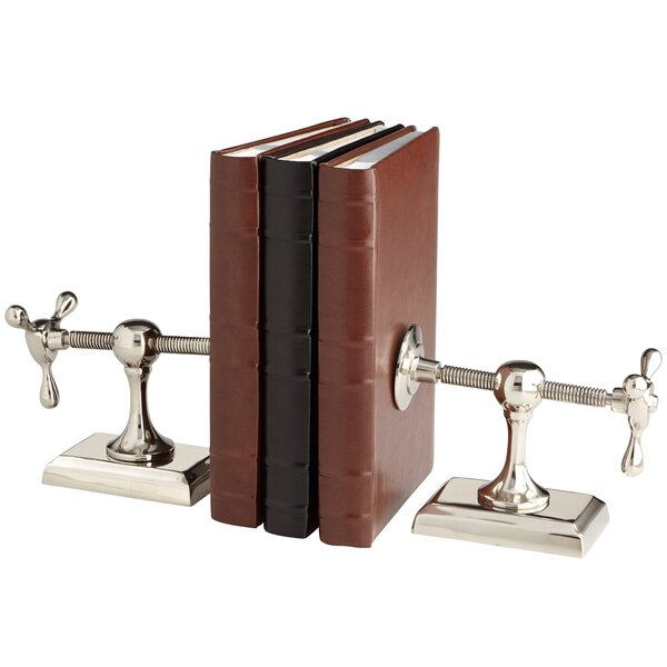 Hot and Cold Bookends (Set of 2) by Cyan Design