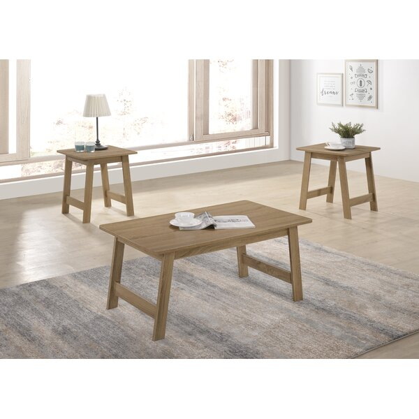 Gadson 3 Piece Coffee Table Set by August Grove August Grove