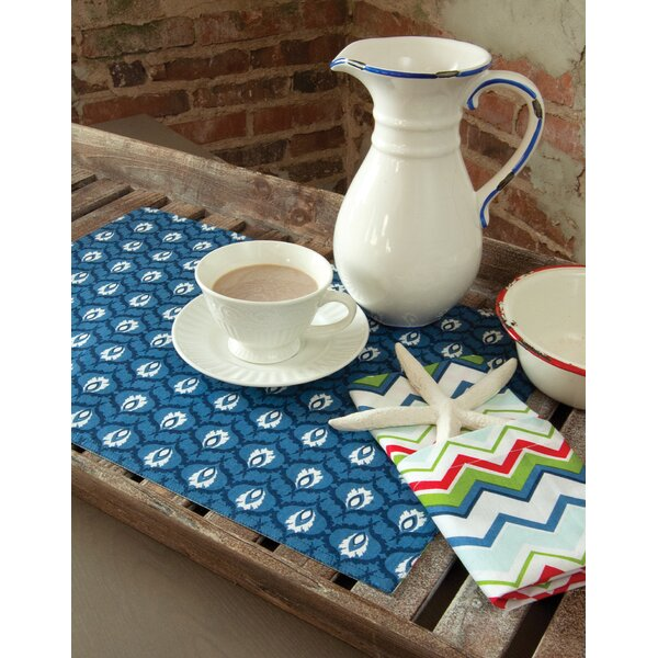 Nantucket Reversible Placemat (Set of 4) by Heritage Lace