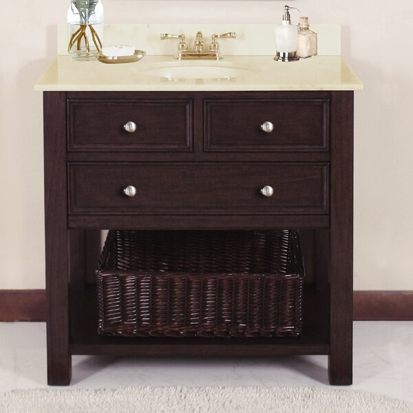 Camber 36 Single Bathroom Vanity Set by LanzaCamber 36 Single Bathroom Vanity Set by Lanza