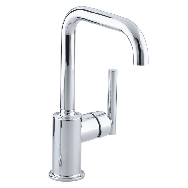 Purist Single-Hole Kitchen Sink Faucet with 6 Spout by Kohler