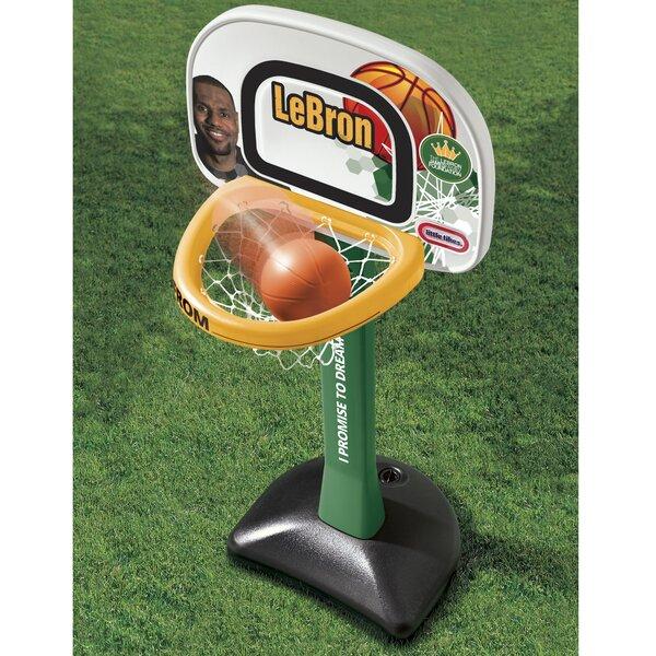 LeBron James Family Foundation Mini Hoop Basketball Set by Little Tikes