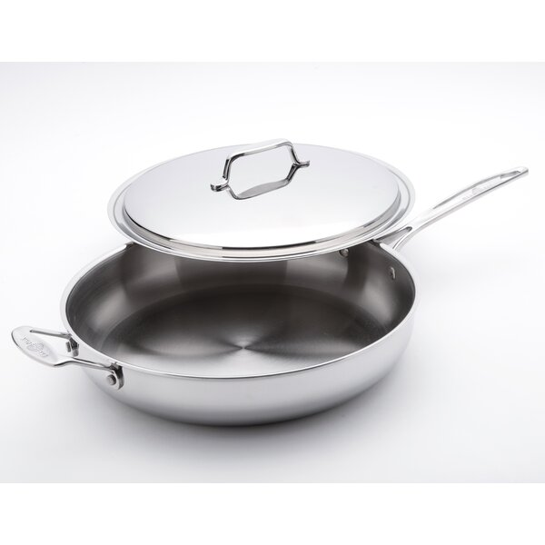 13 Gourmet Chef Frying Pan/Skillet with Lid by USA Pan