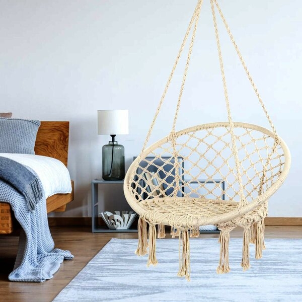Thomasina Hammock Chair by Bungalow Rose Bungalow Rose